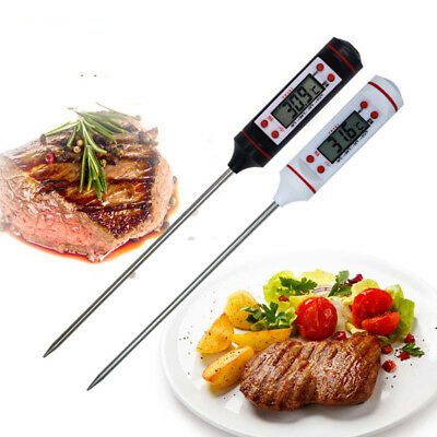 Food Temperature Measurement Tool Stainless Steel Probe Digital Cooking Tool