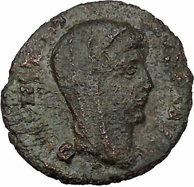 CONSTANTINE I the GREAT 347AD  Ancient Roman Coin Christian Deification  i35470