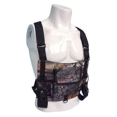 Durable Radio Chest Harness Front Pack Pouch Holster Chest Baofeng Walkie