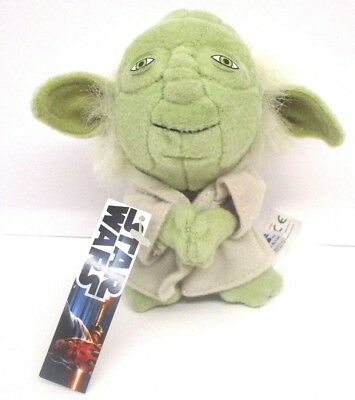 "STAR WARS Comic Images green YODA mini small Stuffed Plush 4"" w/Tag"