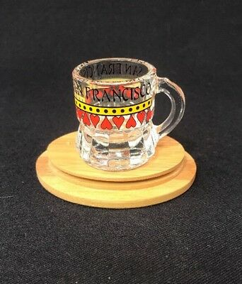 Vintage San Francisco Souvenir Shot Glass