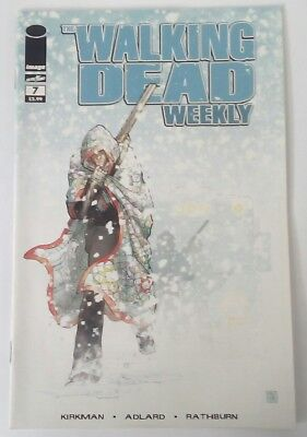 THE WALKING DEAD WEEKLY #7 - IMAGE COMICS 2011 - 1st PRINT - NM CONDITION