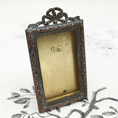 Cadre Porte Photo Style Louis XVI Ruban XIXéme French Photo Picture Frame 19thC