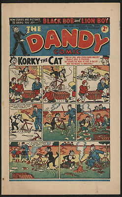 Dandy Comic #403, Aug 13Th 1949, Scarce Post War Issue, Smaller Size