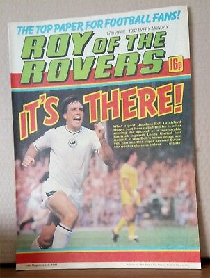 Roy of the Rovers Comic in very good condition dated 17th April 1982