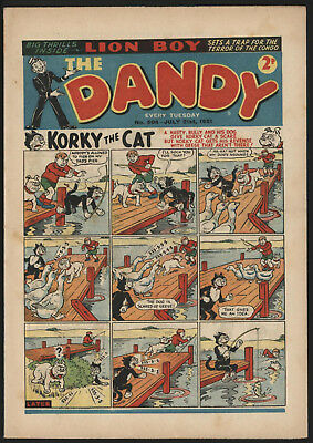 Dandy Comic #504, July 21St 1951, Scarce Issue, Really Nice Condition.