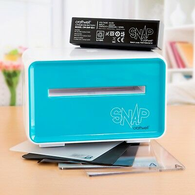 Craftwell - SNAP Machine with Plates and Battery 00044752100