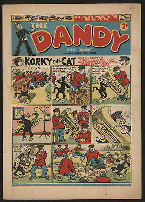 Dandy Comic #556, July 19Th 1952, Nice Condition, Original Owner Copy