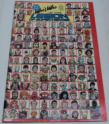 WHO'S WHO IN THE LEGION OF SUPER-HEROES #7 (DC Comics) RARE LAST ISSUE (FN/VF)