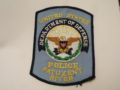Patch Police Usa :  Department Of Defense Police Patuxent River  Patch