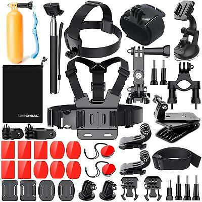 Kit Accessori GoPro Hero 7 6 5 4 3 2 1 Session Black Set Action Cam Camera AKASO