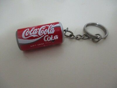Coca cola : a key chain in a shape of a coca cola can. unsigned, from the   90's