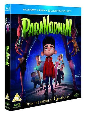 ParaNorman (3D + 2D Blu-ray, 2 Discs, Region Free) *BRAND NEW/SEALED*
