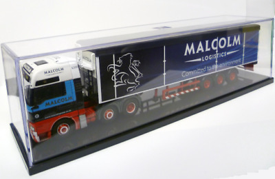 Trumpeter 09809 Display Case Suitable for 1:50 Scale Corgi Trucks for Code 3
