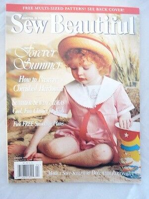 Martha Pullen's Sew Beautiful Magazine Back Issue Summer 1997 Patterns Included