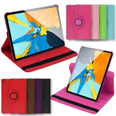 """Shockproof Leather Case Cover For Apple iPad PRO 2018 11 """" 360 ° Rotating Smart"""