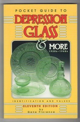 Pocket Guide to Depression Glass and More, 1920s-1960s by Gene Florence (1997, P