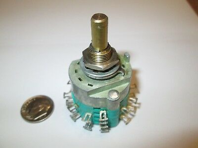 Electroswitch/stackpole   2 Pole - 12 Position Enclosed Rotary Switch   Nos
