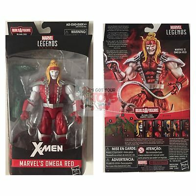 "OMEGA RED + BAF PIECE Marvel Legends HASBRO 2018 X MEN 6"" Inch ACTION FIGURE"