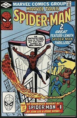 MARVEL TALES #138 1st SPIDER-MAN REPRINTED! UNREAD NM COPY WHITE PAGES