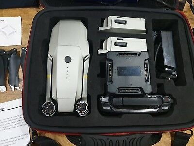 DJI Mavic Platinum Pro 4K Camera Drone - With over £350 in extras (3 months old)