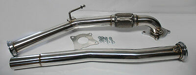 "3"" Turbo Downpipe Exhaust 2.0T Decat Fits VW Golf GTi Jetta Audi A3 06+"