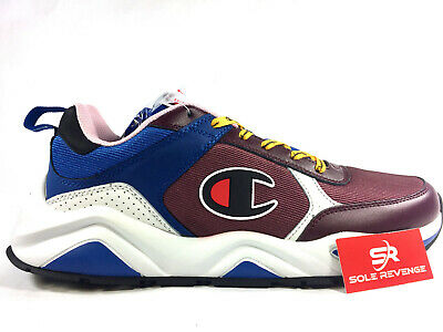 0a07f9fa4b0 CHAMPION 93EIGHTEEN - MEN S Shoes 100116M Maroon Multi Blue White 9318 c1