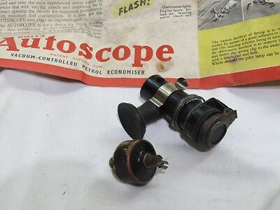 Vintage Holts Autoscope Fits Austin Morris Riley Mg