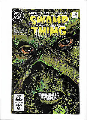 """Swamp Thing #49  [1986 Fn+]  """"the Summoning"""""""
