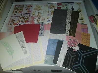Package With Hobbycrafts Mix For Making Cards New (Hc674)