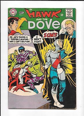 The Hawk And The Dove #1 ==> Gd/vg 1St Issue Of Their Own Series Dc 1968