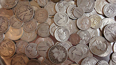 90% Silver Coin Lot, 1 Oz, Preppers, Bullion, Collectors, Junk Silver, Invest!!
