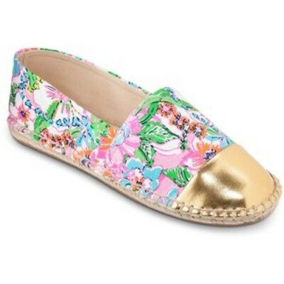 490cfbc2270 NIB Lilly Pulitzer for Target Women s Espadrilles Nosie Posey Shoes Size 10