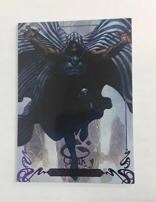 2018 Marvel Masterpieces Purple Parallel #d /199 CLOAK #23