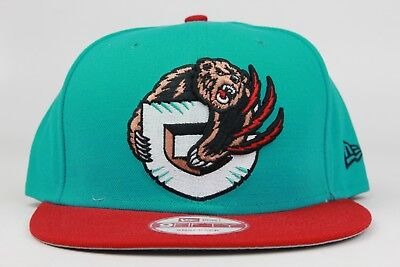Vancouver Grizzlies Teal Red Black Brown White New Era 9Fifty Snapback Hat  Cap 47438a7cab18
