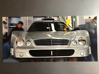 1998 Mercedes AMG CLK-GTR Coupe Picture, Print, Poster RARE!! Awesome L@@K