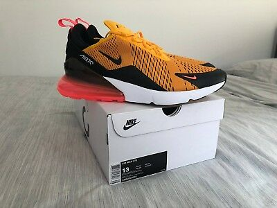 "Nike Air Max 270 University Gold ""Tiger"" AH8050-004 US13 DS BRAND NEW"