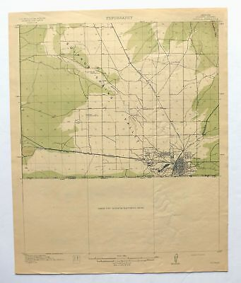 VERDE ARIZONA RARE Antique USGS Topographic Map 1892 Sedona