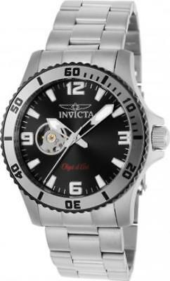 Invicta 22624 42mm Objet d'Art Automatic Open Heart Dial Stainless Men's Watch