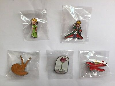 The Little Prince / Le Petit Prince Set of 5 Pins