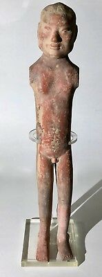 """Chinese Han Dynasty Pottery """"Stickman"""" ca. B.C. 206 - A.D. 220"""