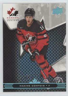 2018 Upper Deck Team Canada Juniors Blue #14 Maxime Comtois (National Team) Max