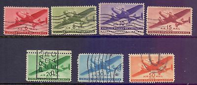 United States  1940  Airmail, used.