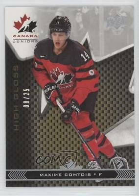 2018 Upper Deck Team Canada Juniors High Gloss 14 Maxime Comtois (National Team)