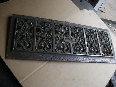 Hints of Copper Cast/Bronze/Brass  Fireplace Architectural Salvage 20 x 8