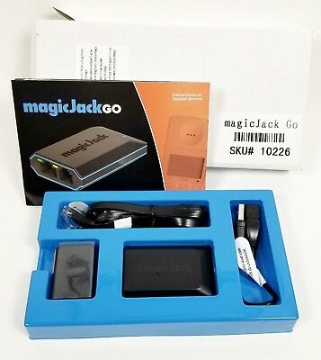 Magicjack Go (Latest Model) First 12 Months Service Included