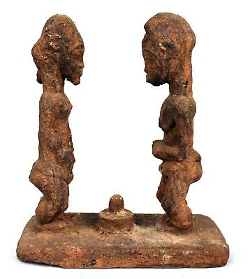 Art African Arts Premiers Tribal - Autel of guessing Baoulé - 31 Cm