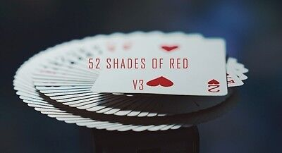 Magic Trick 52 Shades of Red Version 3 by Shin Lim