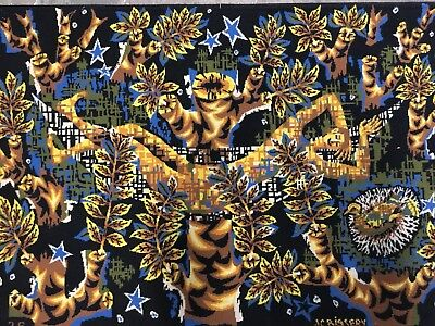 Jean Claude Bissery Tapestry French Modern