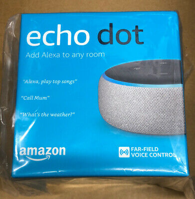 Amazon Echo Dot (3rd Gen) Smart Speaker - Heather Gray